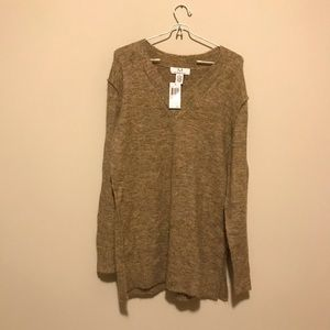 Magaschoni V-neck sweater oversized fit